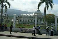Presidential Palace in Ruins