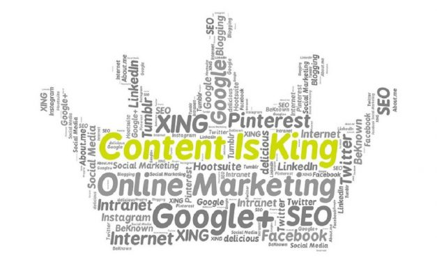 Content is Just One Prong on the Marketing Wheel