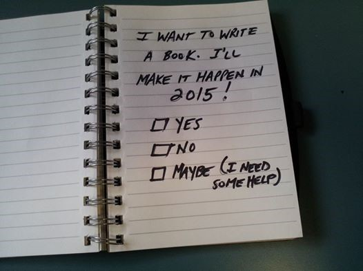 Writing Your Book in 2015?
