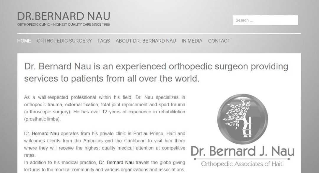 Dr Bernard Nau website