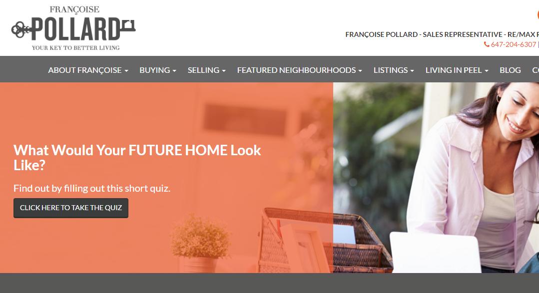 Francoise Pollard website
