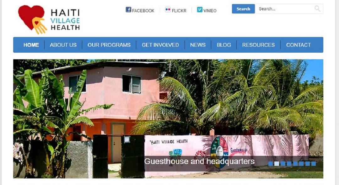 Haiti Village Health website