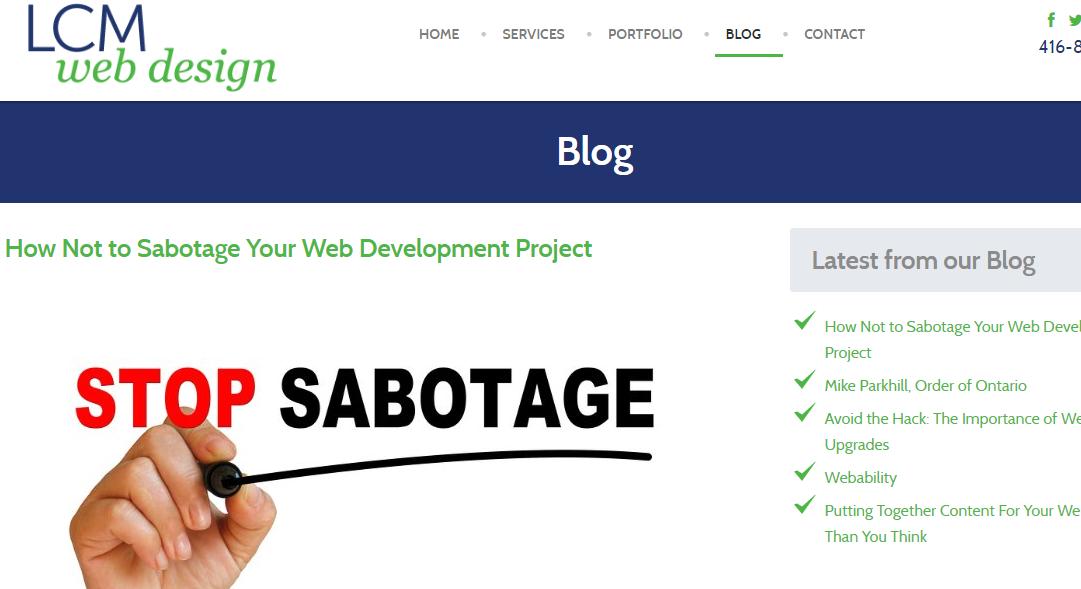 LCM Webdesign blog