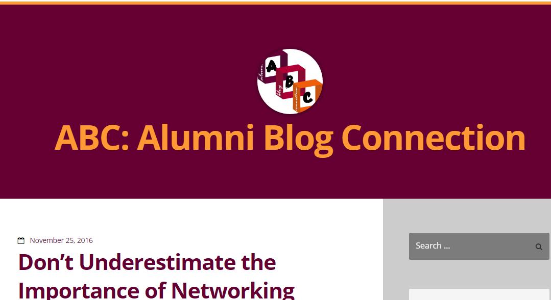 Mohawk Alumni blog